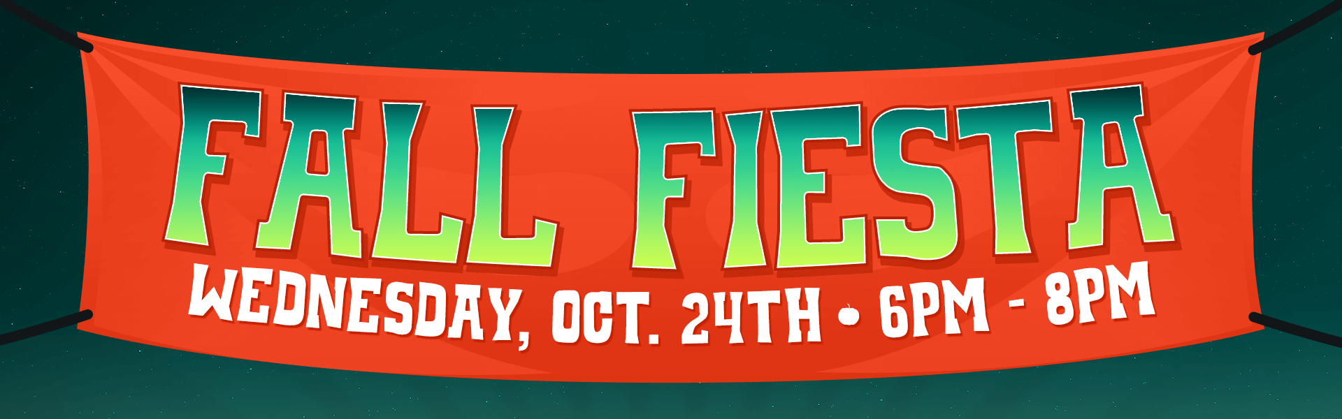 Fall Fiesta - Wednesday, October 24 from 6 to 8pm